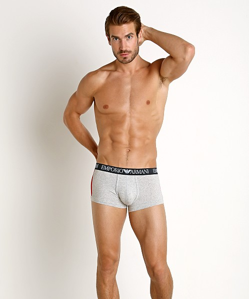 Emporio Armani Color Block Trunk Melange Grey
