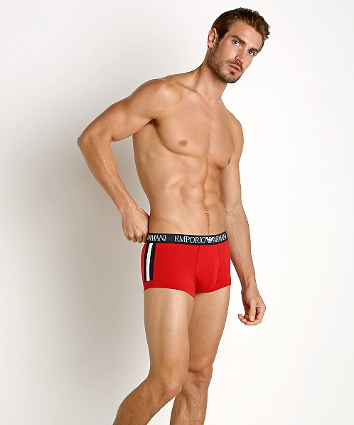 Emporio Armani Color Block Trunk Red