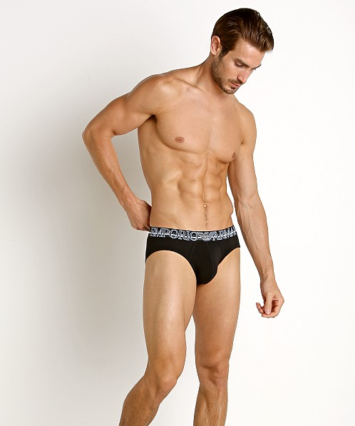 Emporio Armani Colorplay Brief Black