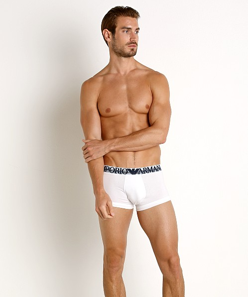 Emporio Armani Colorplay Trunk White