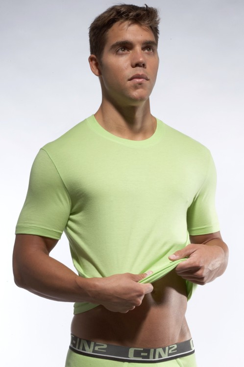 C-IN2 Crew Neck Shirt Jade Lime