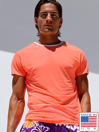 Rufskin Haze Stretch Mesh T-Shirt Highlighter