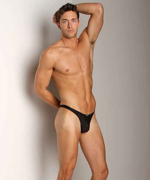 Gregg Homme Voyeur Liquid Touch Up Thong Black