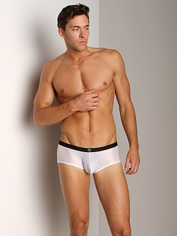 Gregg Homme PerfekBum Butt Outliner Square Cut White