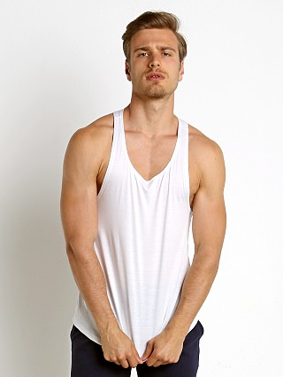 Complete the look: LASC Gym Tank Top White