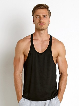 Complete the look: LASC String Tank Top Black