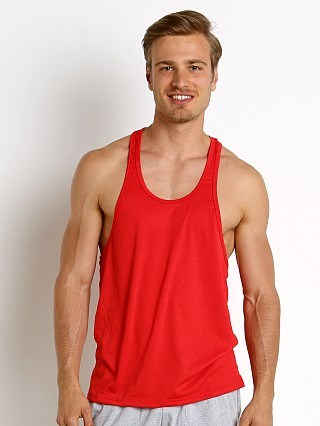 Complete the look: LASC String Tank Top Red