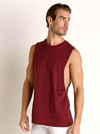 You may also like: LASC Deep Cut Out Tank Top Burgundy