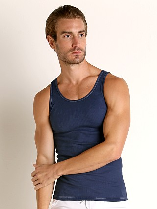 Complete the look: LASC Ribbed Tank Top Navy