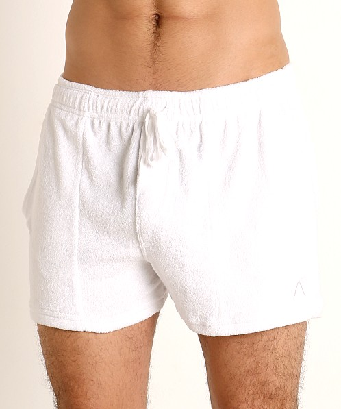 LASC Volley Gym Short White