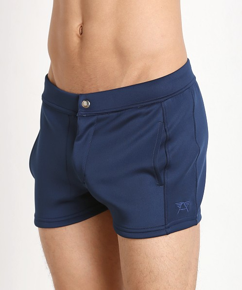 LASC Retro Coach's Short Navy