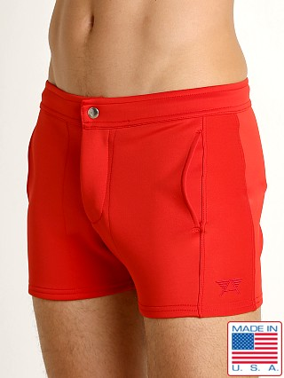 LASC Retro Coach's Short Red