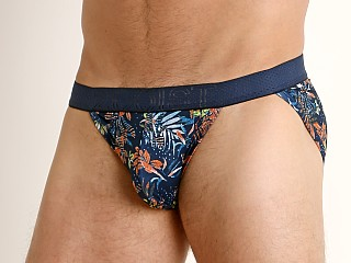 2xist Speed Dri Mesh Sport Brief Hawaiian Foliage