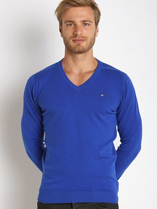 Diesel K-Benti Cotton Stretch Sweater Royal Blue