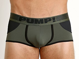 Pump Access Backless Trunk Military Green