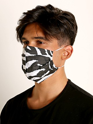 Complete the look: LASC Fashion Face Mask Zebra Print