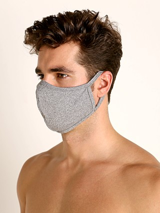 Complete the look: LASC Stretch Cotton Face Mask Heather Grey