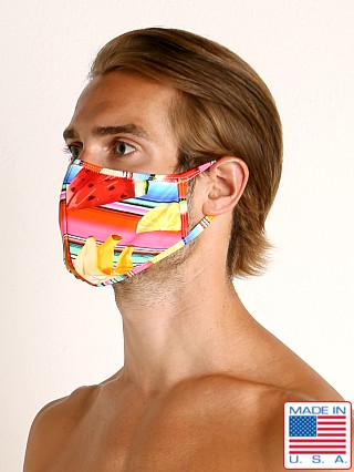 LASC Fashion Face Mask Fruit Stripes