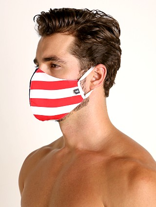Model in stars and stripes Tulio Face Mask
