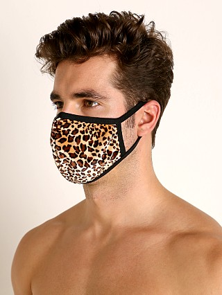 Complete the look: Rick Majors Fashion Face Mask Leopard