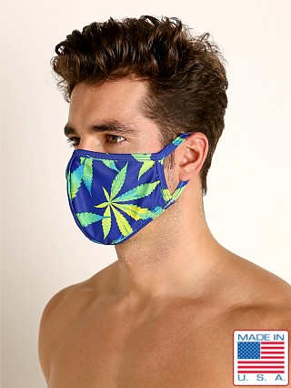 Rick Majors Fashion Face Mask Blue Sativa