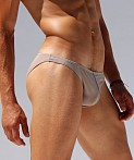 Rufskin Kader Stretch Microfiber Low Rise Brief Tan, view 2