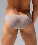 Rufskin Kader Stretch Microfiber Low Rise Brief Tan, view 4