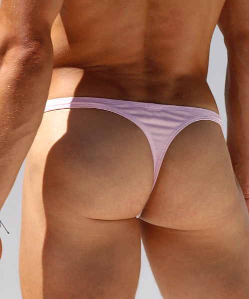 Rufskin Nas Stretch Microfiber Thong Brief Pink