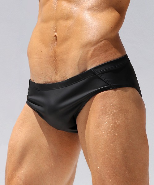 Rufskin Fuego Rubberized Sunga Brief Black