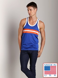 Pistol Pete Contender Tank Royal/Orange