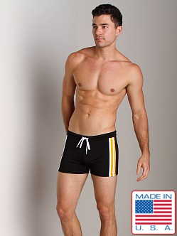 Pistol Pete Jock Short Black/Yellow