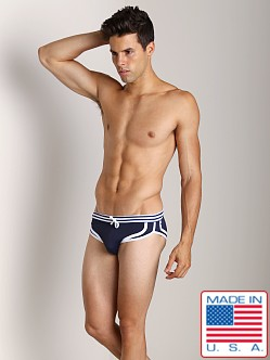 Pistol Pete Parasail Brief Navy