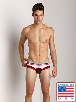 Pistol Pete Rookie Swim Brief Red/Black