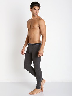 Hugo Boss 24 Solid Long John Charcoal