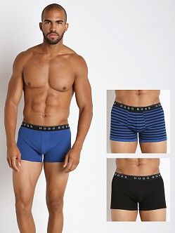 Hugo Boss Boxer Brief 3-Pack Royal/Stripes/Black