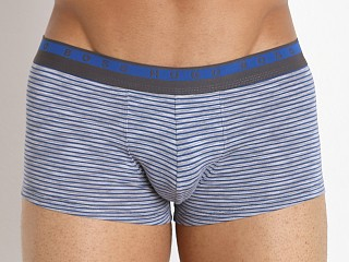 Hugo Boss Heather Stripes Boxer Navy