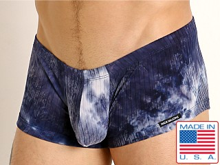 Rick Majors Plush Tie-Dye Trunk Navy