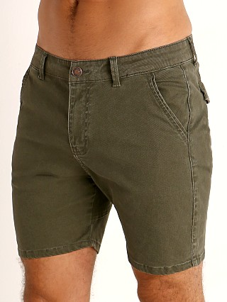 Cell Block 13 Titan Back Zipper Short Army