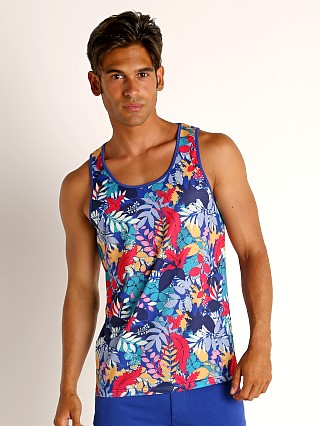 You may also like: St33le Printed Stretch Mesh Tank Tropical Leaves
