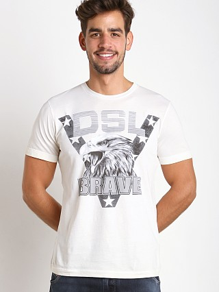 Diesel T-Joe Pigment T-Shirt Off White