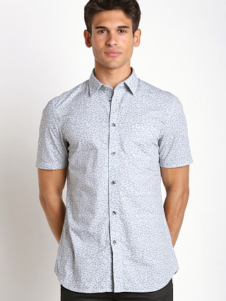 Diesel S-Palms Allover Print Shirt White