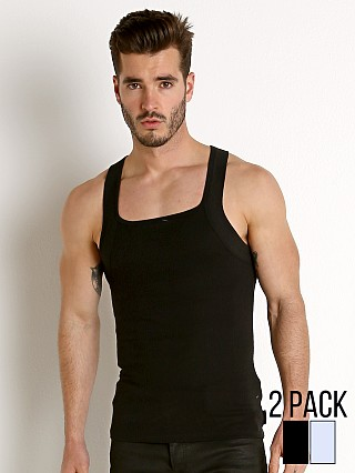 You may also like: Calvin Klein Cotton Stretch Square Cut Tank Top 2-Pack Heather/B