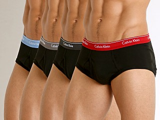 Calvin Klein Cotton Classics Briefs 4-Pack Black Multi