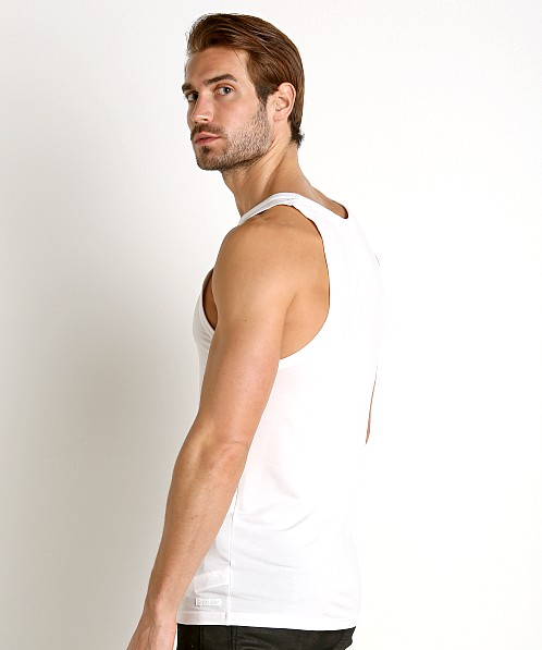 Calvin Klein Ultra Soft Modal Lounge Tank Top White