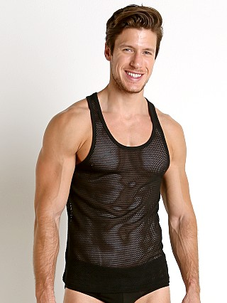 Calvin Klein Body Mesh Tank Top Black