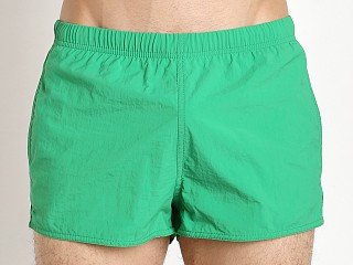 Emporio Armani EA7 Big Logo Swim Shorts Bright Green