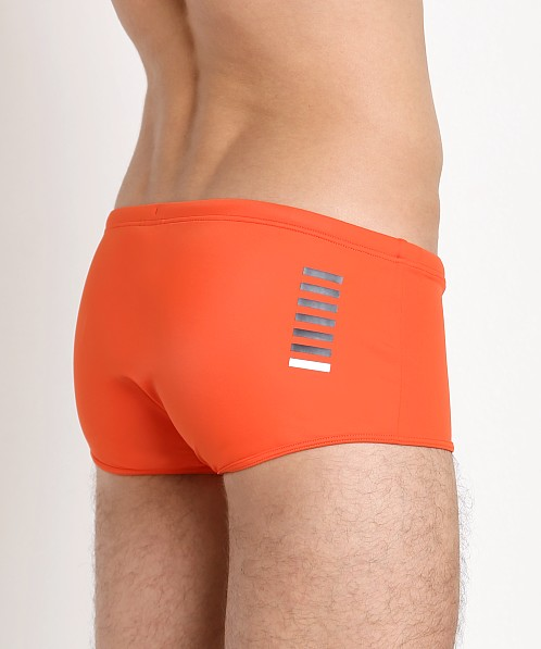 Emporio Armani Active Short Swim Trunk Red Orange
