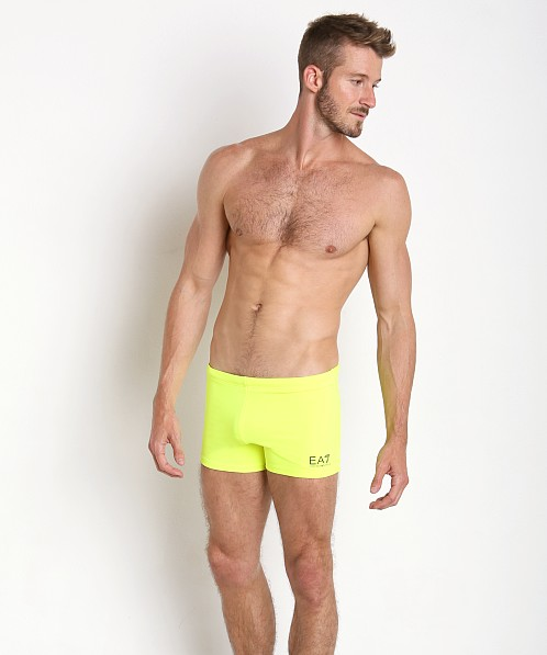 Emporio Armani Active Swim Trunk Acid Lime