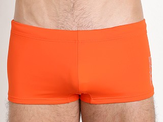 You may also like: Emporio Armani Classic Swim Trunk Red Orange