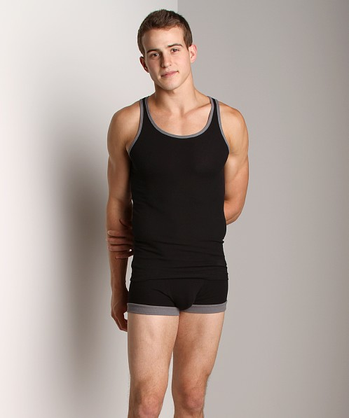 N2N Quantum Tank Top Black